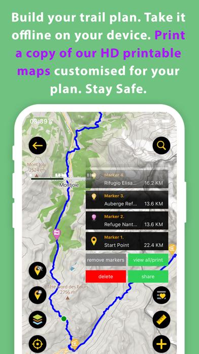 Hiiker: Long-Distance Trails Screenshot