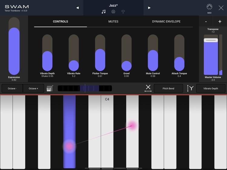 SWAM Tenor Trombone screenshot-5