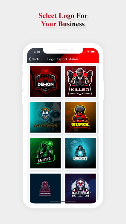 Logo Esport Maker For Gaming