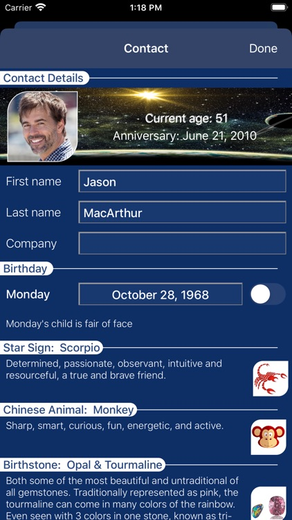 Simply Birthdays Reminder
