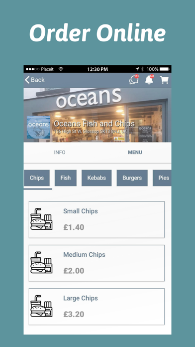 Oceans Fish and Chips screenshot 2