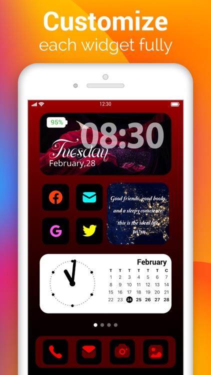 Photo Widgets - Color Widgets screenshot-3