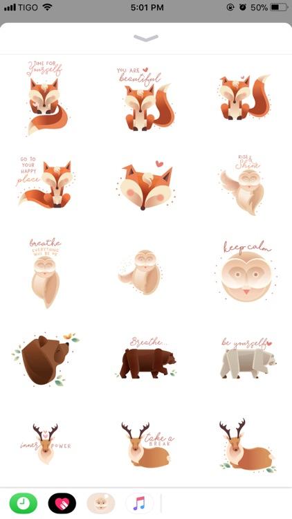 Breathe Stickers