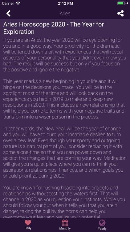 Horoscope for 2021 screenshot-3
