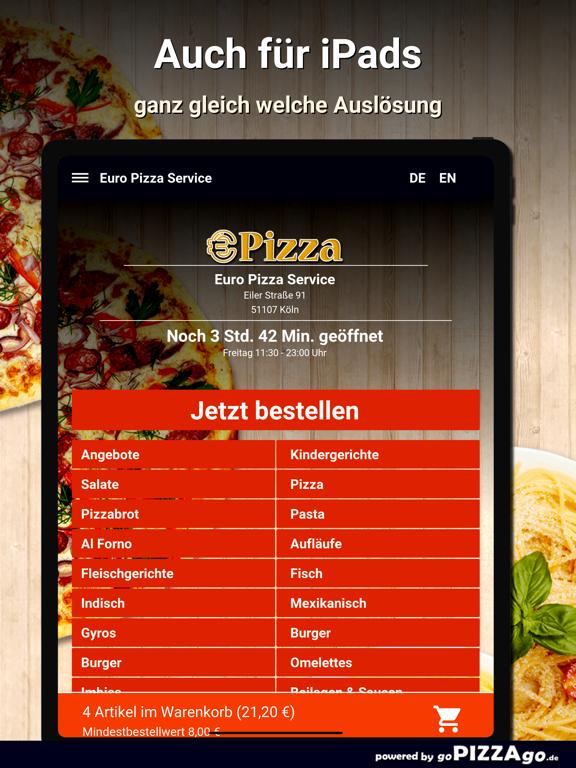 Euro Pizza Service Köln screenshot 7