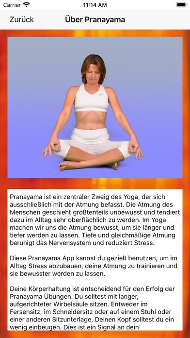 Yoga PranayamaScreenshot von 2