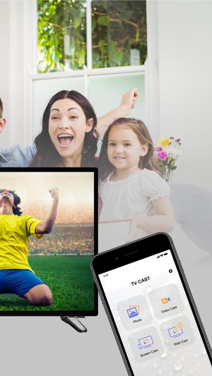 Screen Mirroring - TV Cast App