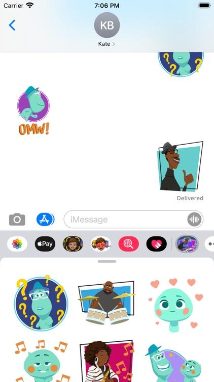 Pixar Stickers: Soul screenshot-3