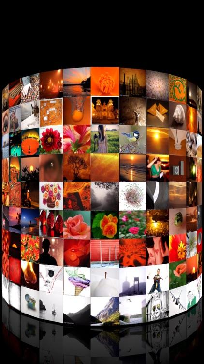 3D Photo Ring - Album Browser