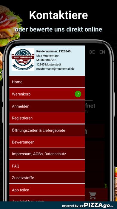 Sidney´s Burgerhouse Fürth screenshot 3