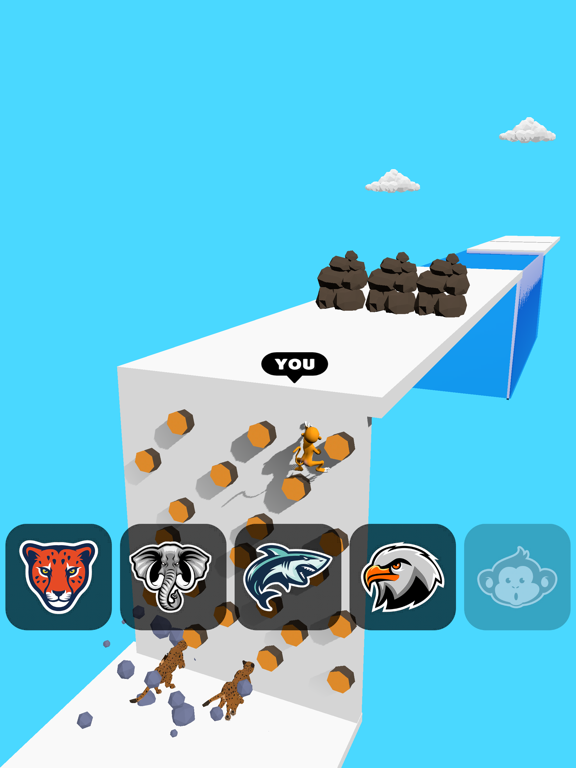 Animal Transform:Epic Race 3D screenshot 9