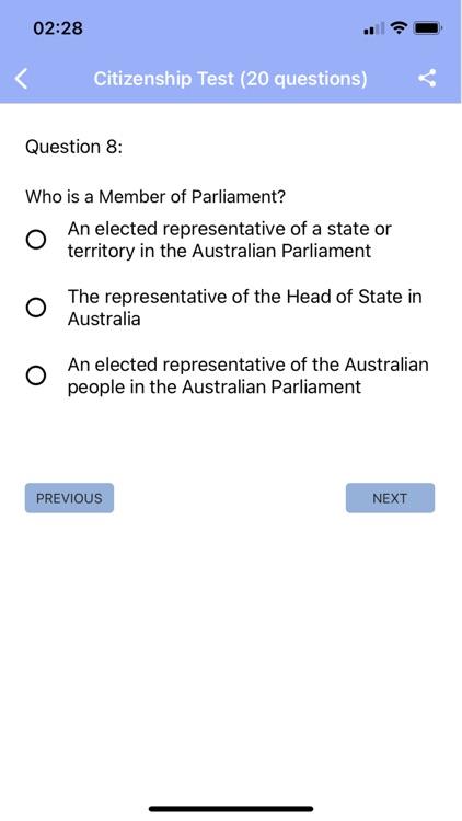 Australian Citizenship Test screenshot-4