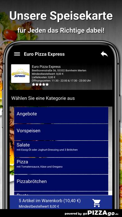 Euro Pizza Bornheim Merten screenshot 4