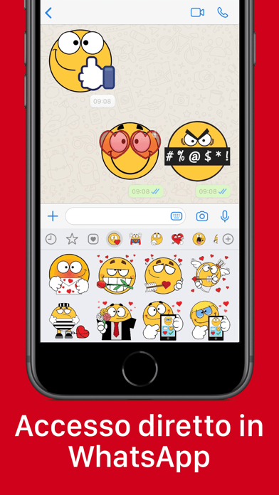 Screenshot of Emojidom sticker ed faccine3