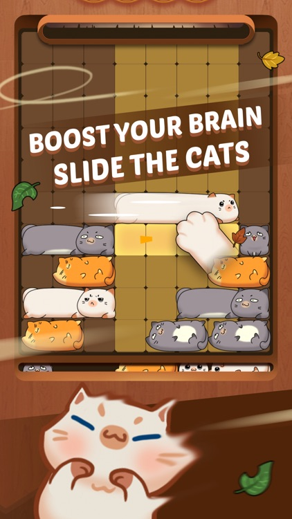 Coco Slide Cats Puzzle ® screenshot-0