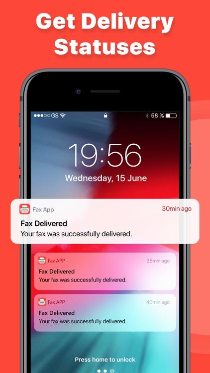 eFax – send fax from iPhone screenshot-3