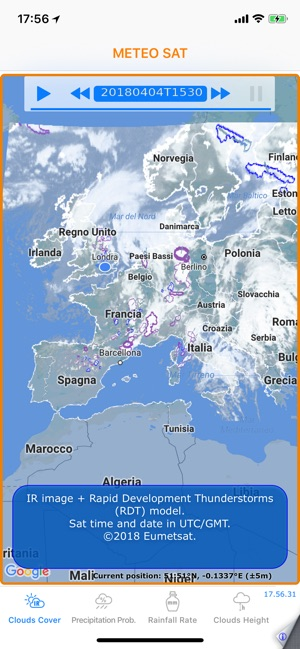 ‎Meteo Sat Screenshot