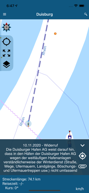 ‎NavShip - Boot Navigation Screenshot