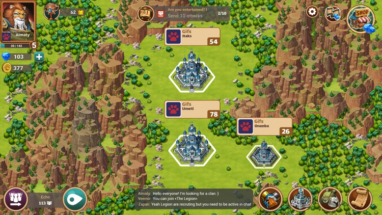 Million Lords: World conquest screenshot-5