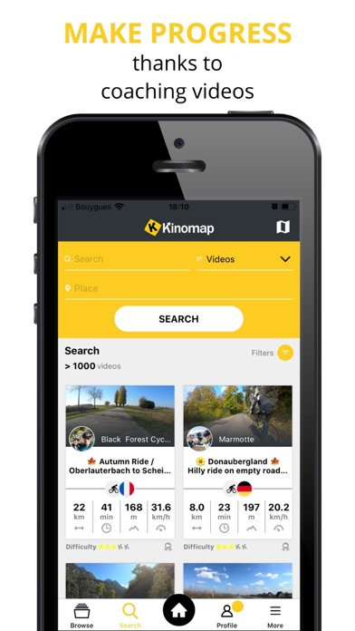 messages.download Kinomap software