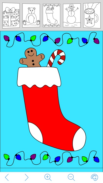 My Holiday Coloring Book