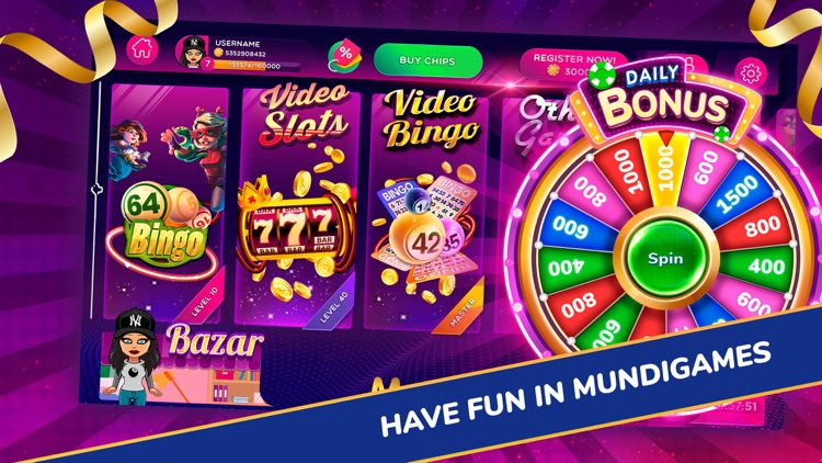 MundiGames - Social Casino screenshot-0
