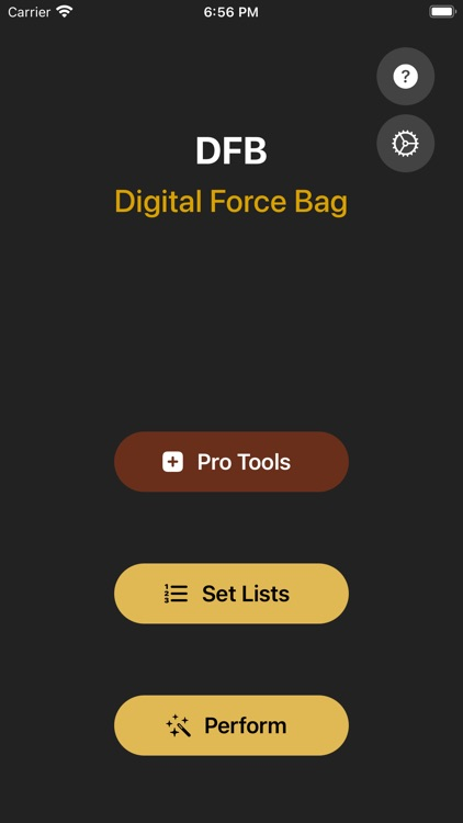 Digital Force Bag
