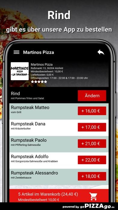 Martinos Pizza Alsfeld screenshot 2