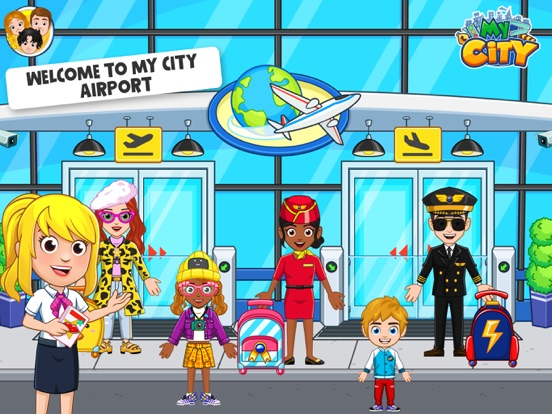 My City : Airport screenshot 7