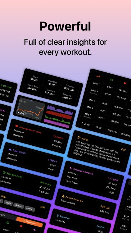 Tempo – Run & Walk Workout Log