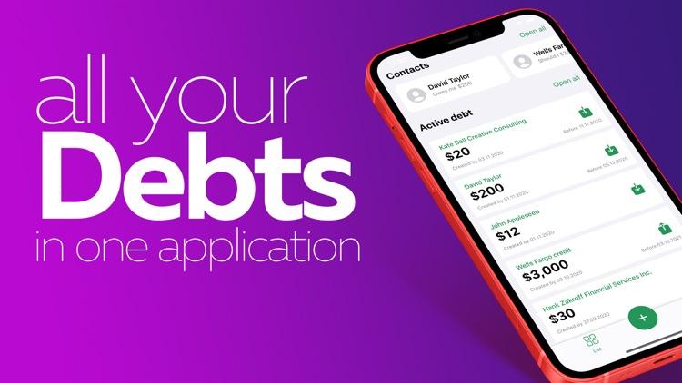 Debt tracker - Robi