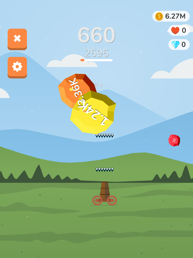 Blasting Master, game for IOS
