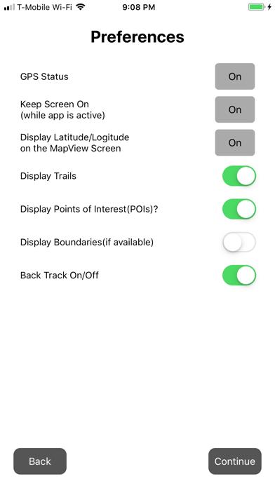 Calico ATV OHV Trails Screenshot