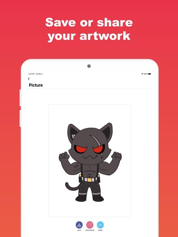 Colortnite: お気に入りの塗り絵アプリのおすすめ画像7