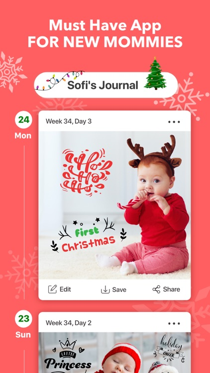Baby Journal - Photo Editor