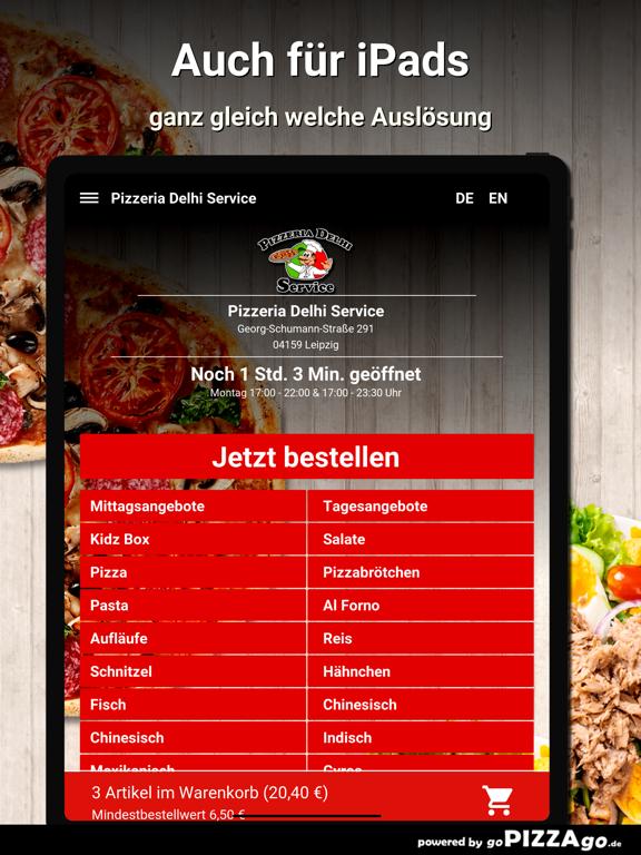 Pizzeria Delhi Service Leipzig screenshot 7