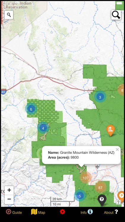 US National Forest Service Map screenshot-5