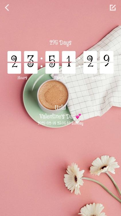 Color Countdown-Tasks Reminder screenshot-5