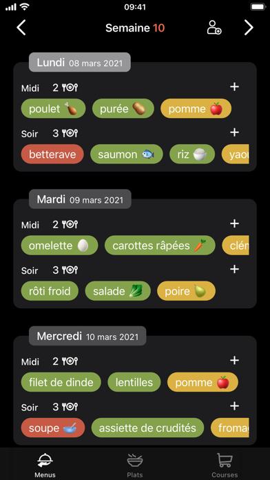 messages.download Menus - Planificateur de repas software