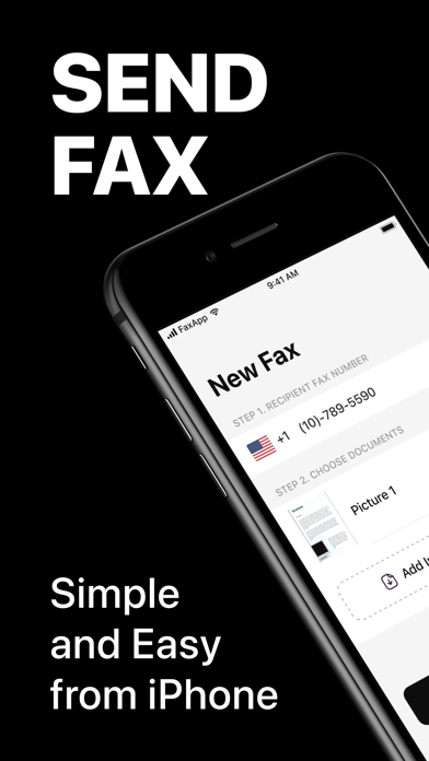 FaxMe: Fax from iPhone & iPad Screenshot