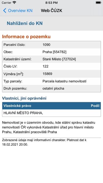 iPozemky screenshot-3