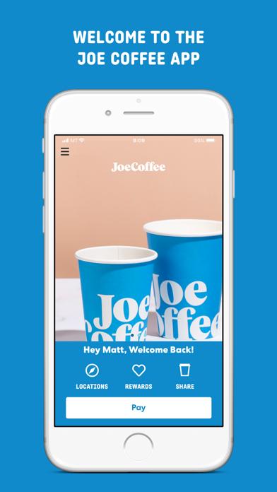 Joe Coffee Company screenshot 1