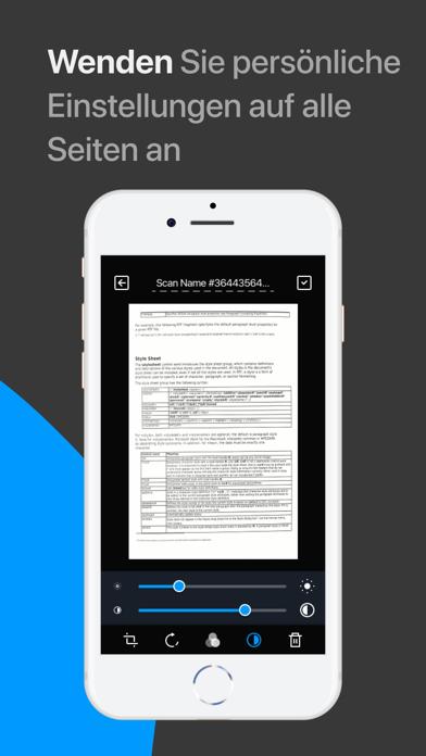 Scanner App: Scannen von PDFScreenshot von 7