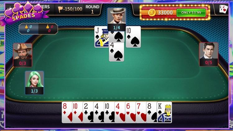 Spades Card Game · Classic screenshot-4
