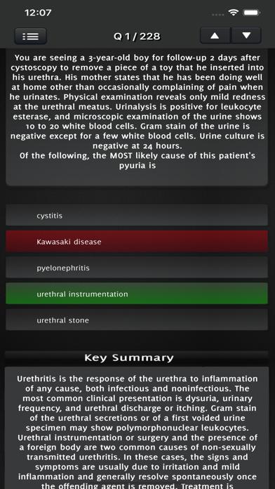 Pediatrics Exam Practice screenshot 3
