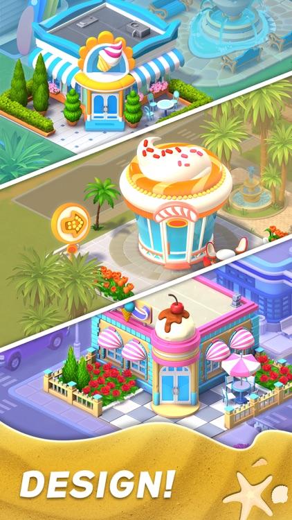 Match Town Makeover: Design 3d screenshot-3
