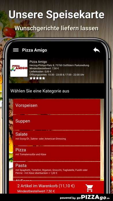 Amigo Ostfildern Parksiedlung screenshot 4