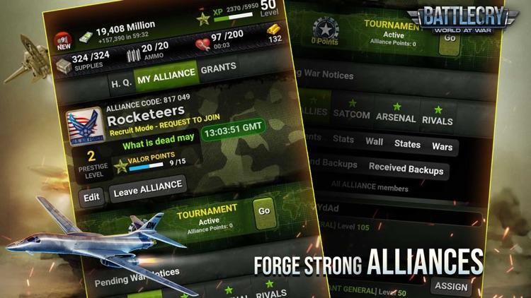 BattleCry: World War Game screenshot-0