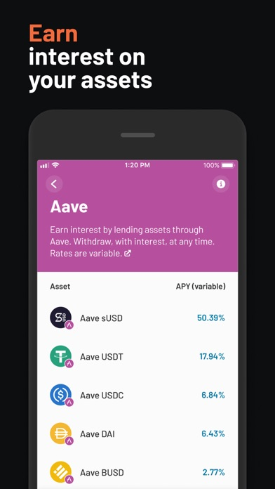 messages.download Argent – DeFi in a tap software