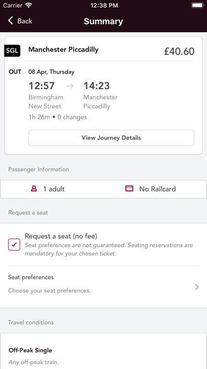 Train Tickets screenshot-3